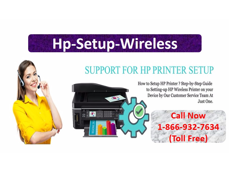 HP Printer Setup – Wireless dial +1-866-932-7634
