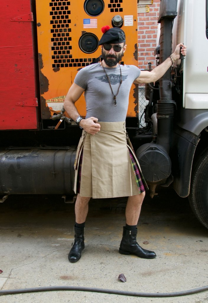 Utility Kilt | Top Quality Custom Made Stonewashed Kilts for Sale