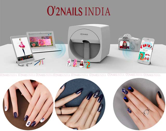 Mobile Nail Printer X11: You can Print your Own Profile Pic on Your Nails!