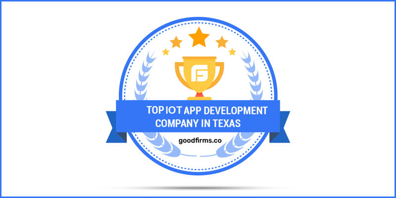 Biz4Solutions Shines Among the Top IoT App Development Companies in Texas at GoodFirms