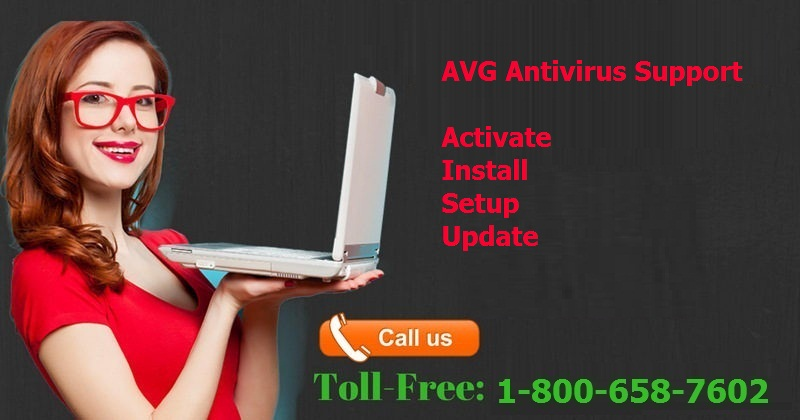 1-800-658-7602 AVG Antivirus Support Number for activation