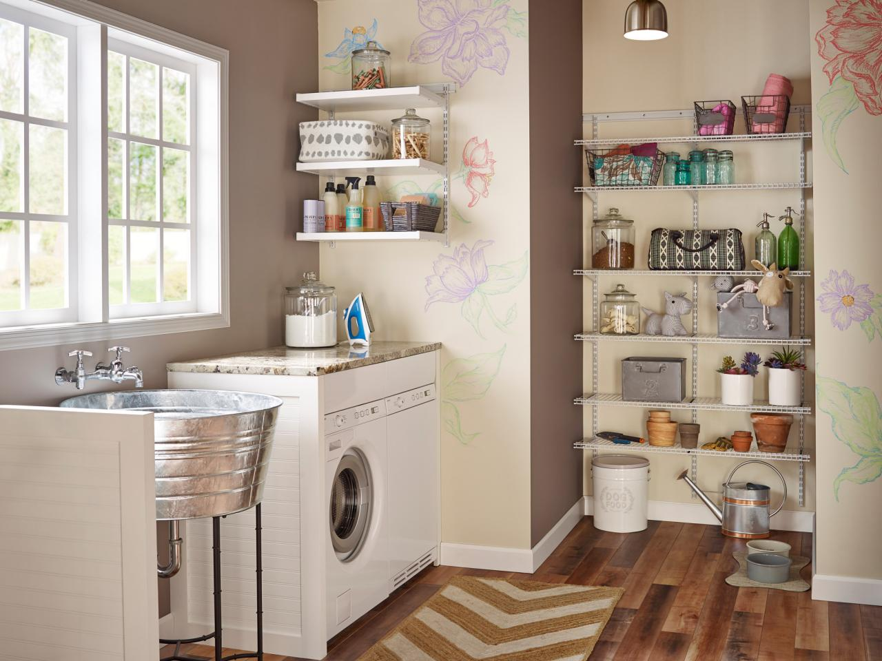 How Do Laundry Room Storing Solutions Work?