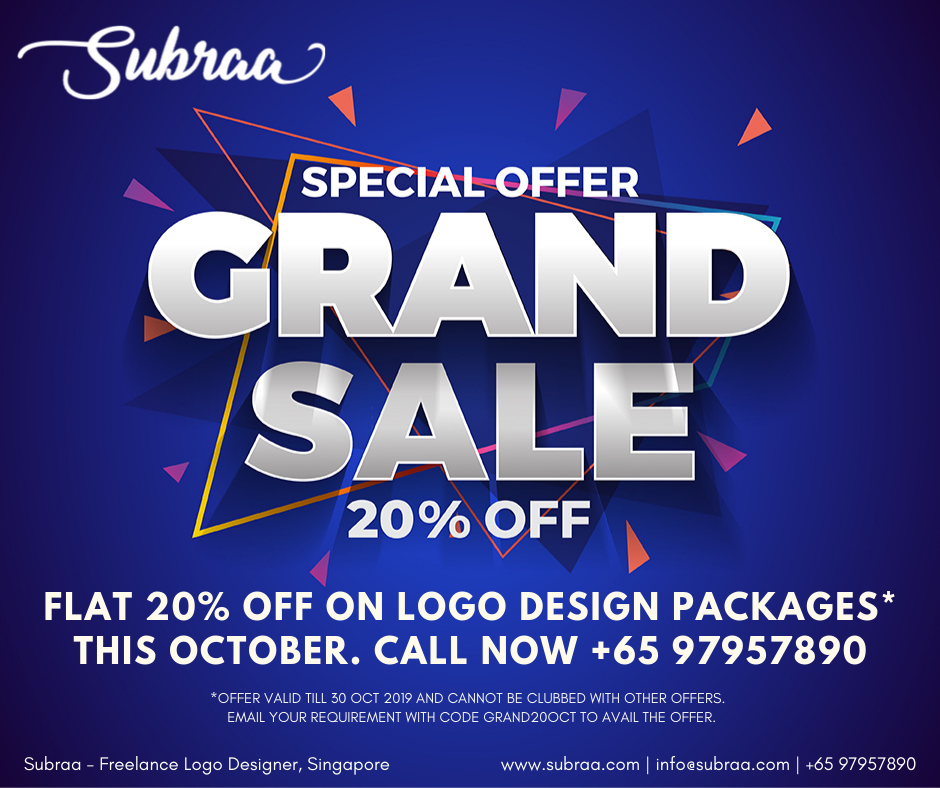 Offer - Logo Design Services in Singapore