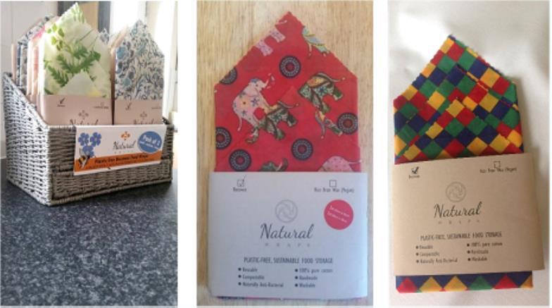Natural Wraps' Leads The Way On Scotland's Green Agenda  With The Launch Of Eco-Friendly Handmade
