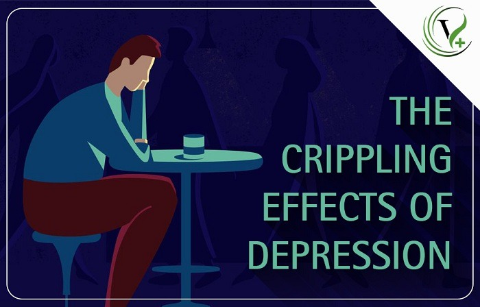 The Crippling Effects Of Depression - VCareTherapy