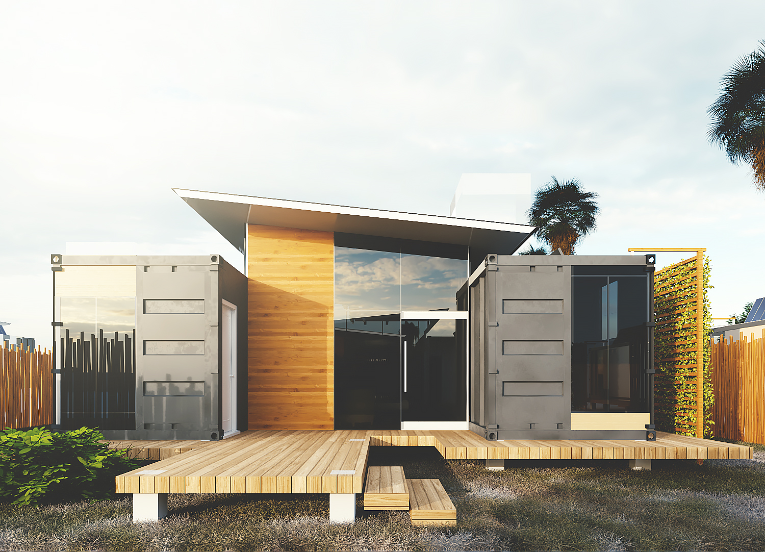 RESIDENTIAL DESIGN WITH CONTAINER