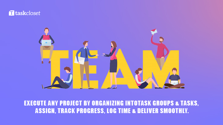Task group : a cool feature that helps you to organize your team performance