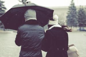 freelancers in the rain