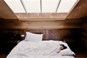 freelancer sleeping