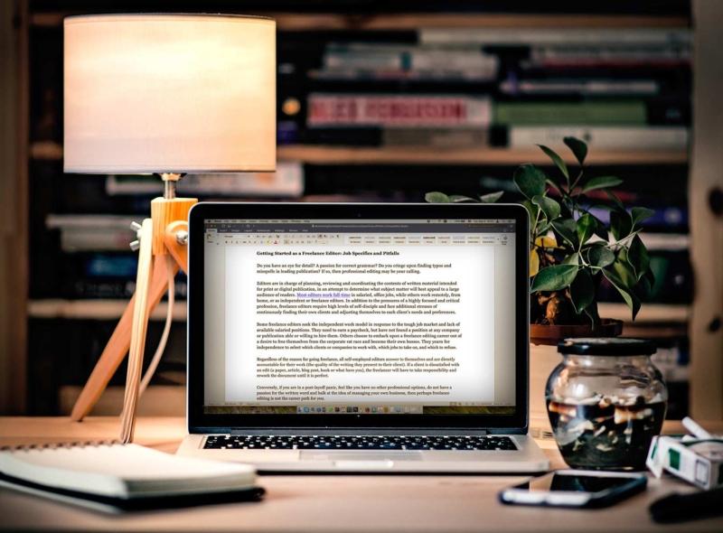 freelance editor
